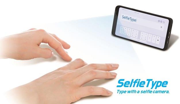 Samsung teclado invisible 1