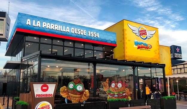 Burger King España recrea 'El Mundo de SuperZings' en uno de sus restaurantes