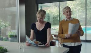 Amazon desvela detalles sobre su spot de la Super Bowl de la mano de Ellen DeGeneres, Portia de Rossi y Alexa