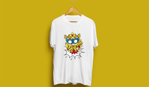 camiseta superzings