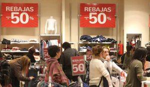 Las rebajas van perdiendo interés entre los españoles