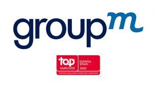 GroupM España revalida, por séptimo año consecutivo, la certificación Top Employer