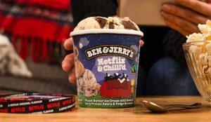 Ben & Jerry's y Netflix lanzan un helado para hacer aún más goloso el binge watching