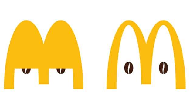 McDonald's despierta a su logo en su nueva y original campaña de McCafé