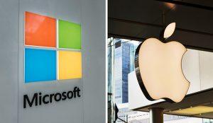 Apple y Microsoft marcan nuevos máximos históricos tras superar el billón de dólares de valor