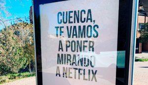 Netflix se pone mirando a Cuenca para promocionar la segunda temporada de Sex Education