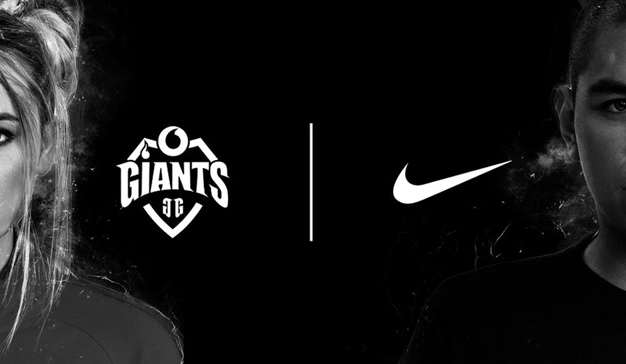 Vodafone Giants y Nike