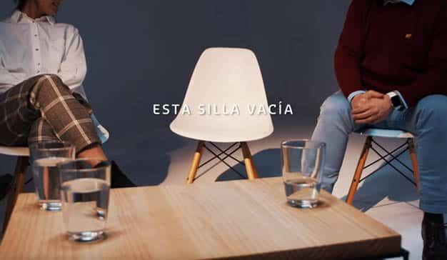 silla vacía
