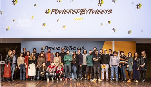 campaña #PoweredByTweets