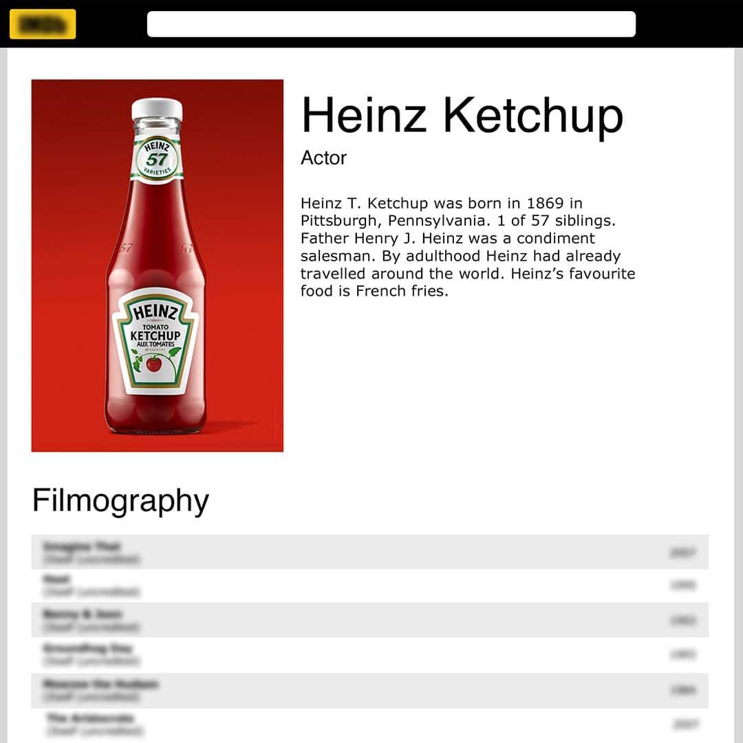 heinz imdb