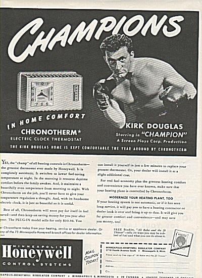 Kirk Douglas Publicidad