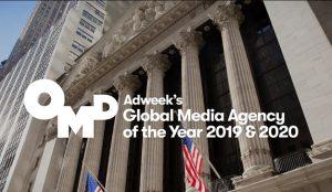 OMD nombrada Agencia Global de Medios 2020