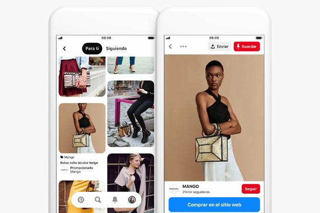 campañas inspiradoras en Pinterest
