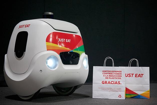 Yape, el prototipo de robot autónomo presentado por Just Eat