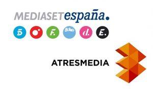 Mediaset lidera las audiencias y la presión publicitaria con una ligera subida de Atresmedia