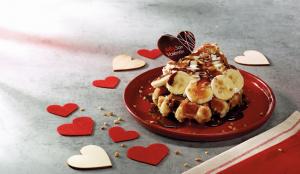 El amor en Ribs sabe a banoffee waffle