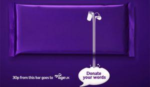 Las tabletas de chocolate Cadbury enmudecen para atajar la soledad de los mayores