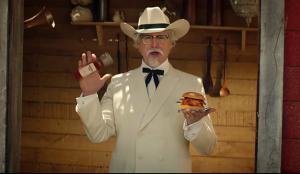 KFC y el Coronel Sanders viajan al oeste para convencer a los franceses de que prueben su pollo frito