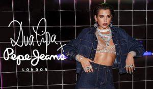 Dua Lipa y Pepe Jeans London colaboran de forma exitosa para dar visibilidad a la marca