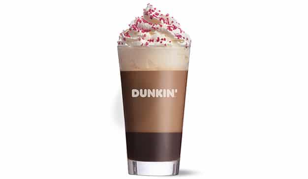 dunkin latte