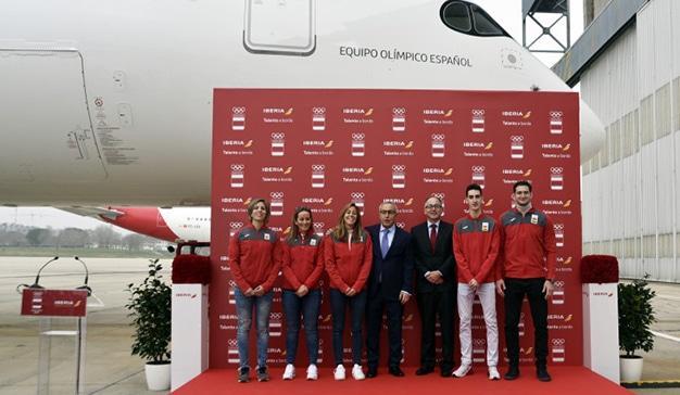 Iberia, orgulloso patrocinador del Comité Olímpico Español