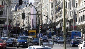 Madrid verá reducida en un 16% la circulación de vehículos privados para 2030