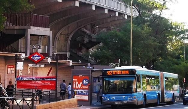 madrid transporte público
