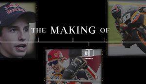 Marc Márquez se suma a las producciones 'The Making Of' de DAZN