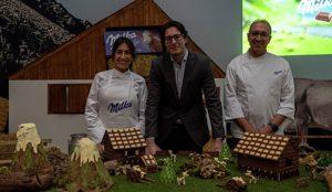 Más de 1.500 personas visitan la granja de chocolate de Milka