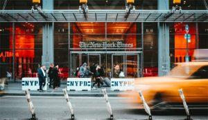 NYT rebasa la barrera de los 5 millones de abonados gracias a las turbulencias políticas en EE.UU.
