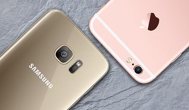 Apple y Samsung suman casi todo el top 10 de los smartphones mejor valorados