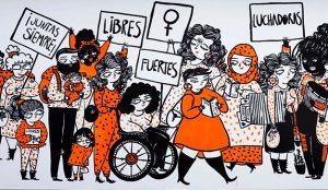8 de marzo, un homenaje a las mujeres a través de la creatividad de las compañías