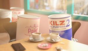Un curioso amor protagoniza la nueva campaña de Kilz Paint Primer