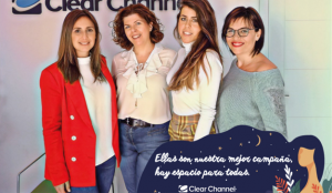 #Hayespacioparatodas, la campaña con la que Clear Channel apoya a las marcas en el Día de la Mujer
