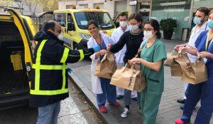 Correos se une a #Food4Heroes para entregar la comida de los servicios hosteleros a hospitales de Madrid