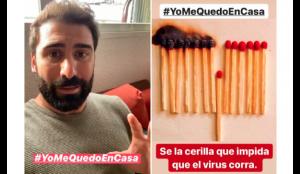 Jorge Cremades lanza en redes la campaña de concienciación#YoMeQuedoEnCasa