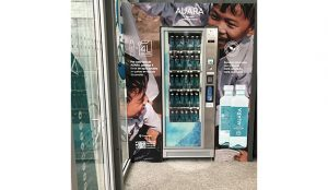 En 2019 el consumo de AUARA en máquinas de Selecta generó 860.000 de litros de agua potable en países en desarrollo