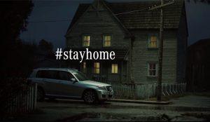 Mercedes-Benz echa el freno a sus campañas en TV para dar paso al mensaje #stayhome