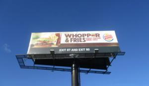 Burger King regala Whoppers a los que usen estos fondos para sus videollamadas