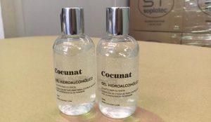 Cocunat fabrica geles desinfectantes para donar a los hospitales y centros geriátricos