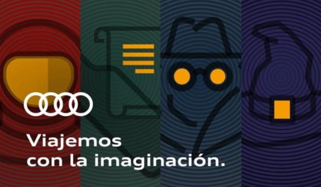 Imagen de la campaña 'Viajemos con la imaginación'