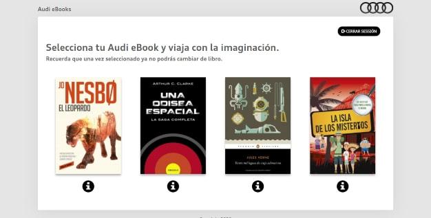 Las cuatro novelas seleccionadas para la campaña 'Viajemos con la imaginación'