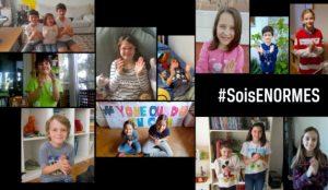 Los niños se unen en esta campaña para dar las gracias a sus padres por ser sus héroes en la cuarentena