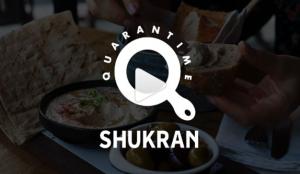 #QuarantimeShukran la nueva campaña de Mauricio Rocha para Taste Shukran