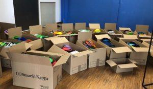 Smurfit Kappa dona 1,5 millones de euros y material fabricado en cartón ondulado para mitigar los efectos del coronavirus