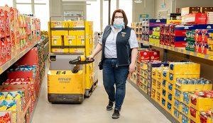 Aldi inaugura una tienda en un hospital para apoyar a los sanitarios que combaten el COVID-19