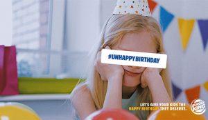 Burger King alegra la cuarentena a 600 niños con fiestas de cumpleaños gratis