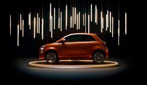 Fiat se alía con Bulgari, Armani y Kartell para promocionar su primer coche eléctrico