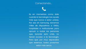 Samsung comparte un manifiesto para poner en valor la tecnología en este tiempo de distanciamiento social