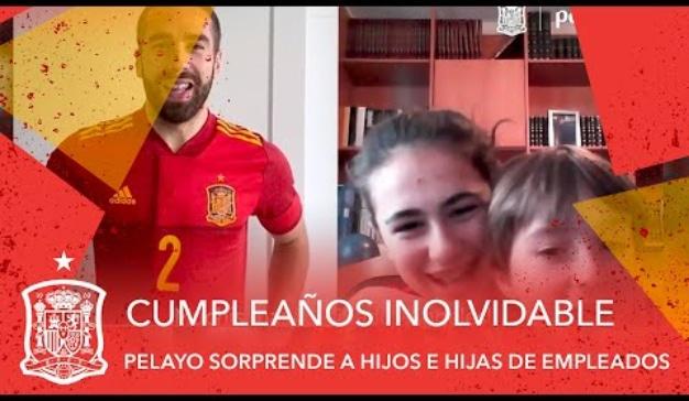 pelayo cumpleaños fútbol